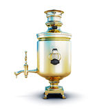 Russian samovar Stock Image