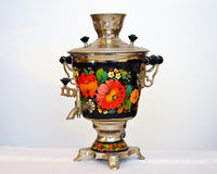 Russian samovar Royalty Free Stock Photos