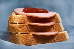 Russian sandwich Stock Photo