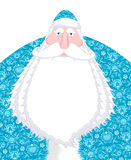 Russian Santa Claus Father Frost. Ded moroz- Santa of Russia. Ch Royalty Free Stock Photography