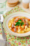 Russian Sauerkraut Soup, Shchi (Stchi) Royalty Free Stock Photo