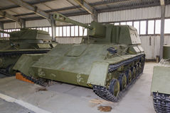 Russian self-propelled gun SU76 Royalty Free Stock Photo