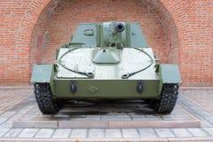 Russian self-propelled gun SU-76 Royalty Free Stock Photos
