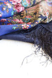Russian shawl Royalty Free Stock Photo