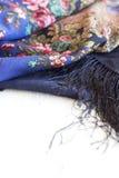 Russian shawl Royalty Free Stock Photo