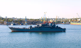 Russian ship Royalty Free Stock Photo