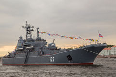 A Russian ship Royalty Free Stock Photography