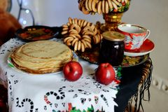 Russian Shrovetide Royalty Free Stock Photos