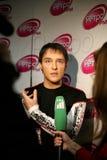 Russian singer Jury Shatunov stock photos