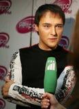 Russian singer Jury Shatunov royalty free stock images