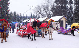 Russian sleigh. Stock Image