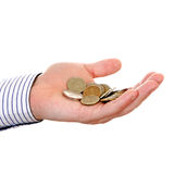 Russian small change Royalty Free Stock Photo