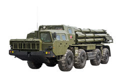 Russian Smerch 300 mm MLRS Stock Images
