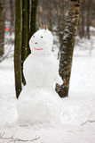 Russian Snowman Stock Image