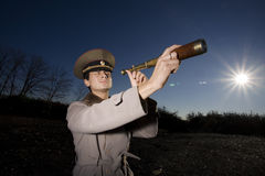 Russian soldier Royalty Free Stock Images