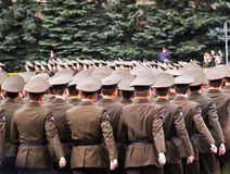 Russian soldiers stock images