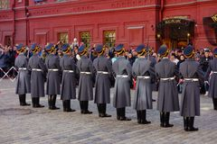 Russian soldiers Royalty Free Stock Photos