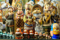 Russian souvenir dolls Stock Image