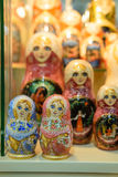 Russian souvenir dolls Royalty Free Stock Photo