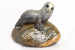 Russian souvenir - Seal (Baikal) Stock Photo