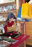 Russian souvenir shop. Moscow Stock Images