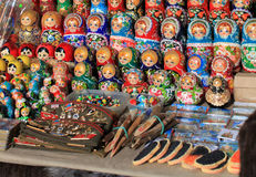 Russian souvenirs Royalty Free Stock Image