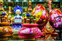 Russian Souvenirs Stock Images