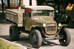 Russian soviet army military truck ZIS-5 Royalty Free Stock Image