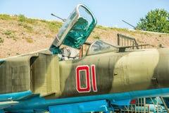 Russian Soviet multipurpose frontline fighter Stock Photo