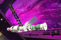 Russian space station MIR at exhibition Cosmos Royalty Free Stock Image
