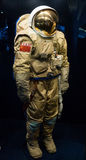 Russian space suit. Photographed Russian space suit for a cosmonaut Stock Photos