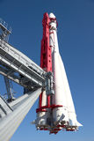 Russian spaceship Vostok in Moscow Stock Photo