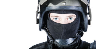 Russian special forces Stock Photo