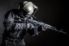 Russian special forces operator Royalty Free Stock Photos
