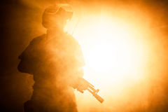 Russian special forces operator Stock Photography