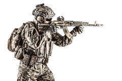 Russian special operations forces Royalty Free Stock Image