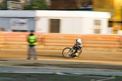 Russian speedway championship among Russian teams stock photos