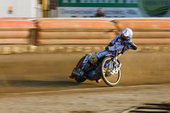 Russian speedway championship among Russian teams stock photography