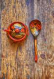 Russian spoon Royalty Free Stock Photos