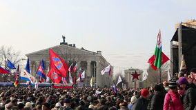 Russian spring stock video footage