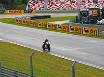 Russian stage of the Superbike World Championship, on July 21, 2013, in Moscow Raceway, Moscow, Russia. Stock Images