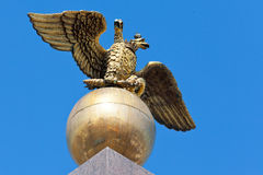 Russian of state eagle Stock Image