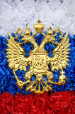 Russian State Emblem Stock Photo