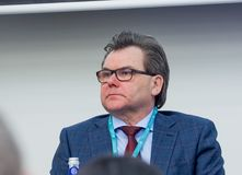 Russian statistic agency deputy director Konstantin Laikam Stock Image