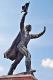 Russian statue Stock Photos