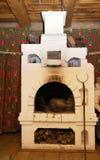 Russian stove Royalty Free Stock Photo