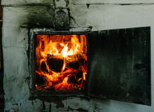 Russian stove Stock Image