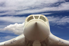Russian strategic bomber Tu 160 Stock Photography
