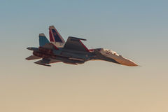 Russian strike fighter Sukhoi Su-30 Stock Image
