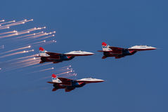 Russian Strizhi demo team Royalty Free Stock Image